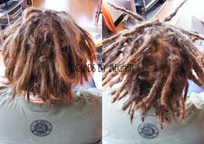 dreads bijwerken - dreadlock onderhoud - uitgroei bijwerken - losse haren dreads - Lock Solid Rotterdam (103)