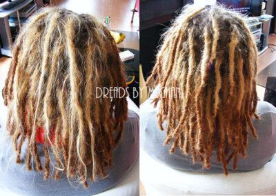 dreads bijwerken - dreadlock onderhoud - uitgroei bijwerken - losse haren dreads - Lock Solid Rotterdam (105)