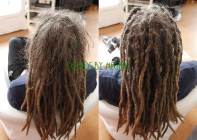 dreads bijwerken - dreadlock onderhoud - uitgroei bijwerken - losse haren dreads - Lock Solid Rotterdam (122)