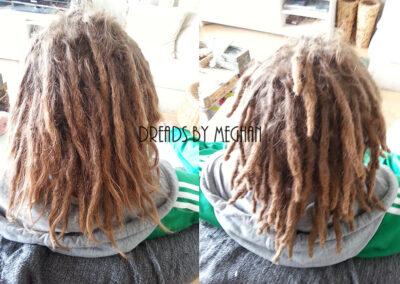 dreads bijwerken - dreadlock onderhoud - uitgroei bijwerken - losse haren dreads - Lock Solid Rotterdam (126)