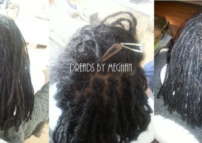 dreads bijwerken - dreadlock onderhoud - uitgroei bijwerken - losse haren dreads - Lock Solid Rotterdam (127)