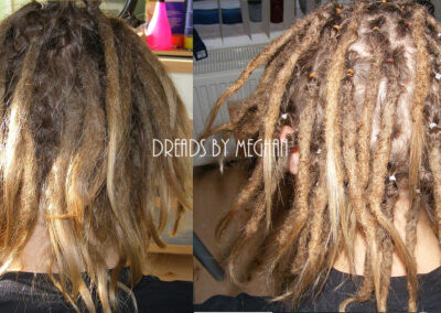 dreads bijwerken - dreadlock onderhoud - uitgroei bijwerken - losse haren dreads - Lock Solid Rotterdam (13)