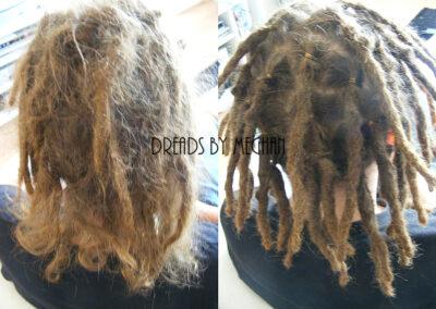 dreads bijwerken - dreadlock onderhoud - uitgroei bijwerken - losse haren dreads - Lock Solid Rotterdam (18)