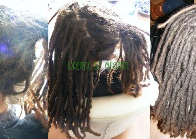 dreads bijwerken - dreadlock onderhoud - uitgroei bijwerken - losse haren dreads - Lock Solid Rotterdam (21)