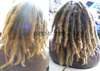 dreads bijwerken - dreadlock onderhoud - uitgroei bijwerken - losse haren dreads - Lock Solid Rotterdam (22)