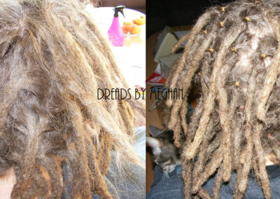 dreads bijwerken - dreadlock onderhoud - uitgroei bijwerken - losse haren dreads - Lock Solid Rotterdam (36)