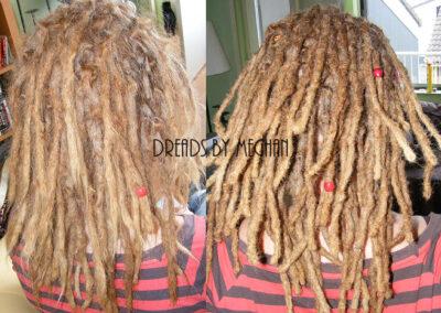 dreads bijwerken - dreadlock onderhoud - uitgroei bijwerken - losse haren dreads - Lock Solid Rotterdam (41)