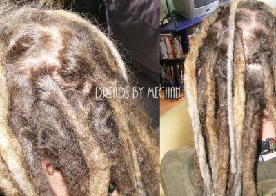 dreads bijwerken - dreadlock onderhoud - uitgroei bijwerken - losse haren dreads - Lock Solid Rotterdam (42)