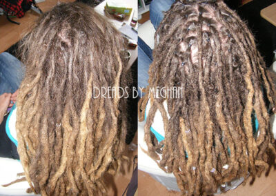 dreads bijwerken - dreadlock onderhoud - uitgroei bijwerken - losse haren dreads - Lock Solid Rotterdam (50)