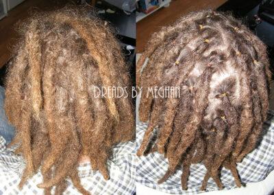 dreads bijwerken - dreadlock onderhoud - uitgroei bijwerken - losse haren dreads - Lock Solid Rotterdam (51)