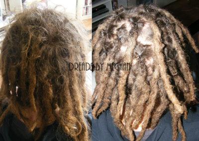 dreads bijwerken - dreadlock onderhoud - uitgroei bijwerken - losse haren dreads - Lock Solid Rotterdam (63)