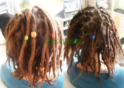 dreads bijwerken - dreadlock onderhoud - uitgroei bijwerken - losse haren dreads - Lock Solid Rotterdam (65)