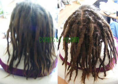 dreads bijwerken - dreadlock onderhoud - uitgroei bijwerken - losse haren dreads - Lock Solid Rotterdam (83)