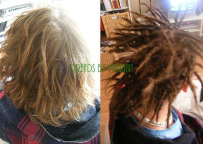 dreads zetten in dun haar - dreads zetten weinig haar - een paar dreads zetten - weinig dreads - dun haar dreadlocks - Lock Solid Dreadlocks Rotterdam (13)