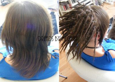 dreads zetten in dun haar - dreads zetten weinig haar - een paar dreads zetten - weinig dreads - dun haar dreadlocks - Lock Solid Dreadlocks Rotterdam (18)