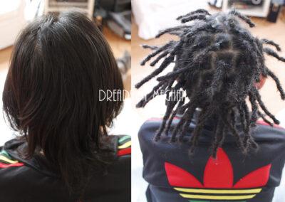 dreads zetten in dun haar - dreads zetten weinig haar - een paar dreads zetten - weinig dreads - dun haar dreadlocks - Lock Solid Dreadlocks Rotterdam (22)