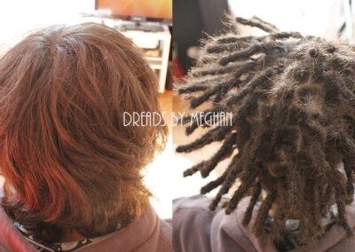 dreads zetten in dun haar - dreads zetten weinig haar - een paar dreads zetten - weinig dreads - dun haar dreadlocks - Lock Solid Dreadlocks Rotterdam (23)