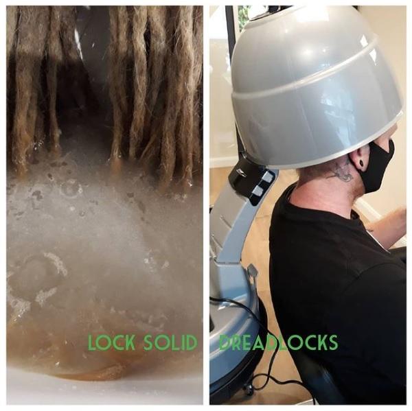 Deep cleaning - dreadlock detox - dreads wassen - Lock Solid Dreadlocks - dreadkapper rotterdam - loctician - dreadlocks schoonmaken